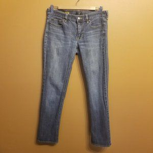 J. Crew Factory | Toothpick Stretch Jeans (26/30)